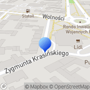 Mapa Fanton Słupsk, Polska