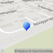 Karta Delving Consulting AB Gävle, Sverige