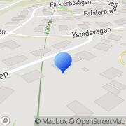 Karta Tostar Management AB Sundsvall, Sverige
