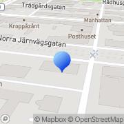 Karta FVB Sverige AB Sundsvall, Sverige