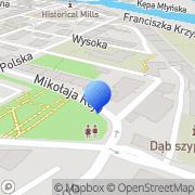 Mapa Piotrowski Artur. Art. motoryzacyjne Brzeg, Polska