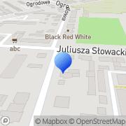 Mapa Lilak Września, Polska