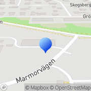 Karta KBT Resurs Uppsala, Sverige