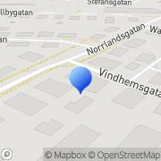 Karta Pandora Uppsala, Sverige