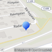 Karta Ak Consulting Maintenance Uppsala, Sverige