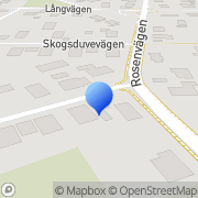 Karta Edimpex Consulting Uppsala, Sverige