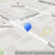 Karta Uppsala Downtown Uppsala, Sverige