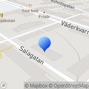 Karta Evabo Uppsala, Sverige