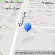 Karta Fruktforum Andersson & Linander, AB Uppsala, Sverige