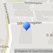 Karta Essde Teknik Uppsala, Sverige
