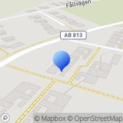 Karta A.J. Enter Stenhamra, Sverige