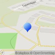 Karta Mälardalens Textservice Kungsängen, Sverige