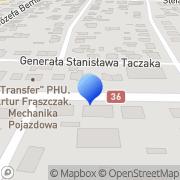 Mapa Transfer Ostrów Wielkopolski, Polska