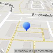 Karta Vågens parkett Norsborg, Sverige