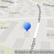 Karta Borg Energi AB Vinsta, Sverige