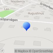 Karta E.V.R - Centrum AB Spånga, Sverige