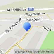 Karta Cebody AB Kista, Sverige