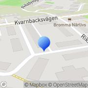 Karta Badge i Umeå Bromma, Sverige