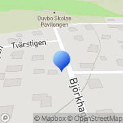 Karta Duvbo Management Sundbyberg, Sverige