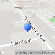 Karta Nitro Neon AB Bromma, Sverige