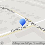 Karta Pärlkompaniet Härnösand, Sverige