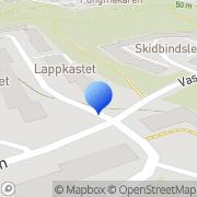 Karta Repro 8 AB Hökmossen, Sverige
