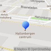 Karta Coop Konsum Sundbyberg, Sverige