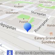 Karta VMP-Group Sundbyberg, Sverige