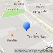 Karta Instrumentarium AB Solna, Sverige