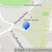 Karta Haga Mobilkranar AB Sundbyberg, Sverige