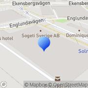 Karta Veterankonsulterna AB Solna, Sverige