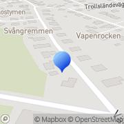 Karta Skandinaviska Elaktiebolaget Skandel Hökmossen, Sverige