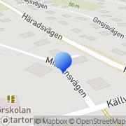 Karta Ritarcader Huddinge, Sverige