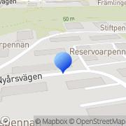 Karta Golvfixar'N I Hägersten AB Ekensberg, Sverige