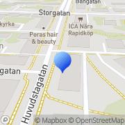 Karta Pontells Elverktyg & Service AB Solna, Sverige