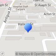Map 0800 863 493 Christchurch, New Zealand