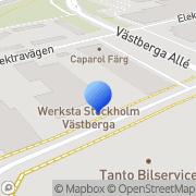 Karta Hallbergs Plåt & Lack AB Årstadal, Sverige