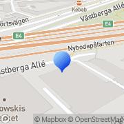 Karta Handelsboden Skinn- & MC-Kläder Stockholm Stockholm, Sverige