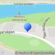 Karta J.C. Wilander Fastighetsservice Stockholm, Sverige