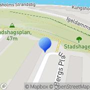 Karta I-Witch Stockholm, Sverige