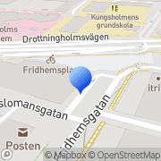 Karta Elite Sales Group Stockholm, Sverige