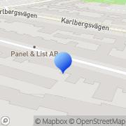 Karta Lundgren & Co Företagsutveckling Stockholm, Sverige