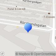 Karta Nisseinvest Stockholm, Sverige