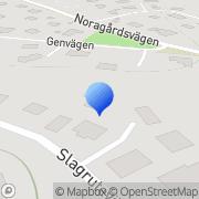 Karta Sunda Måltider i Sverige AB Danderyd, Sverige