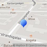 Karta Clas Lewerentz Abc Stockholm, Sverige