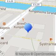 Karta Stockholms Magasin & Lager Stockholm, Sverige