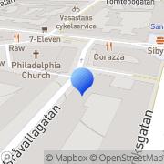 Karta Gustafson Gummifirma Elis Stockholm, Sverige