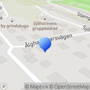 Karta Mia Åsanders Älgkalvar Årstadal, Sverige