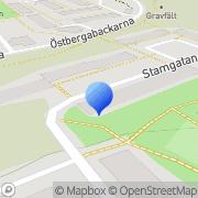 Karta Höghus Förlag Årstadal, Sverige