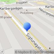 Karta SweChin Stockholm, Sverige